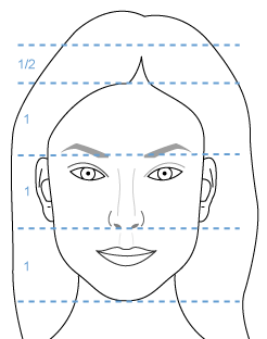 Femme-Face-Grille-Horizontale